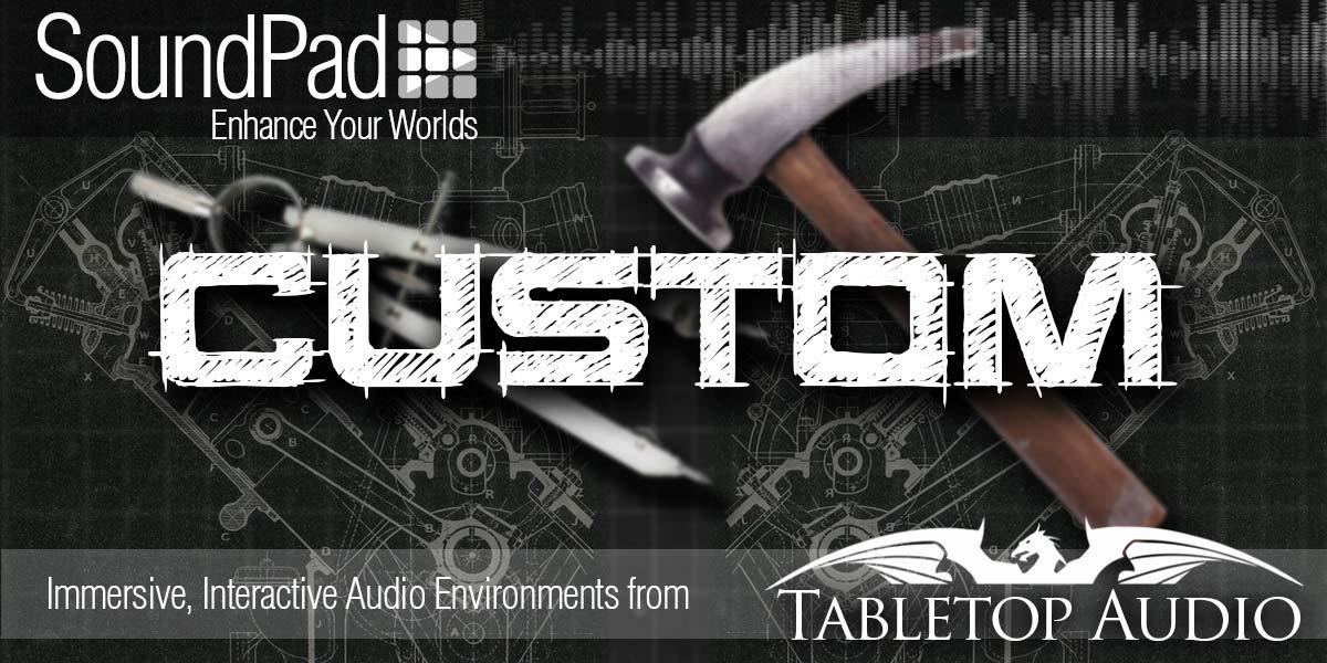 Custom SoundPad - Tabletop Audio